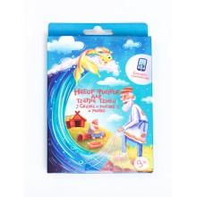 Набор фигурок для театра теней Сказка о рыбаке и рыбке
