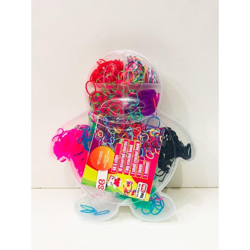 Набор для творчества - Резиночки для плетения в ассортименте