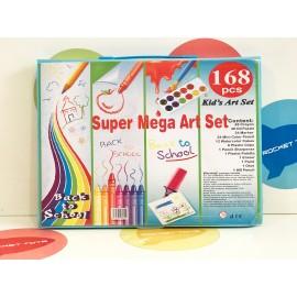 Набор для рисования и творчества в ассортименте 168 дет.