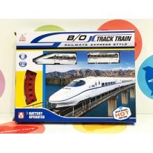 Игрушка - Поезд скоростной с железной дорогой 08021