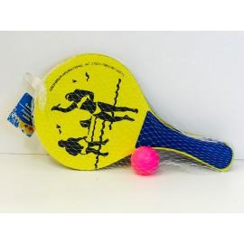 Ракетки с мячом в ассортименте 09526