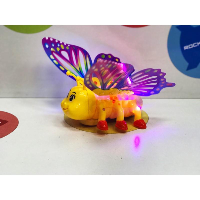 Игрушка - Бабочка свет+звук