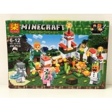 Конструктор - Minecraft на 295 дет. 123-810