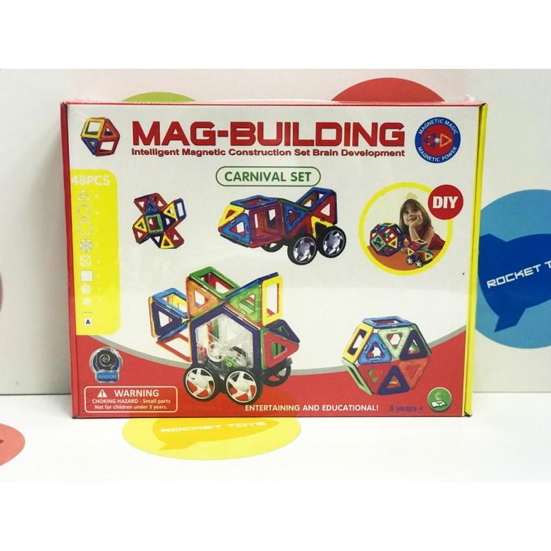 Игрушка - Магнитный конструктор 48 деталей