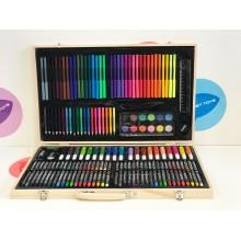 Набор для рисования и творчества в ассортименте 180 дет.
