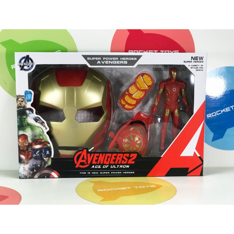 Игрушка - Супер герой Iron с Маской