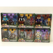 Игрушка - Фигурки Minecraft 12 в 1 19-22