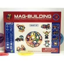 Игрушка - Магнитный конструктор 200 деталей