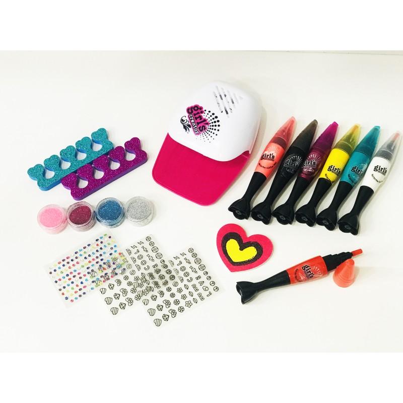 Набор для творчества - Крутые ногти с сушилкой MBK-329