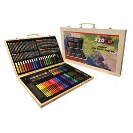 Набор для рисования и творчества в ассортименте 220 дет.