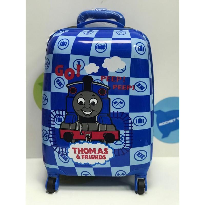 Детские чемоданы на колесиках в ассортименте.