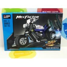 Конструктор - MecFactor Police мотоцикл 3802