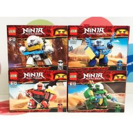 Конструктор - Ninja 98 дет. 8 шт. 3D101