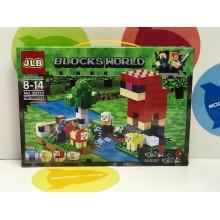 Конструктор - Minecraft 272 дет. 3D117