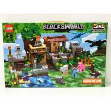 Конструктор - BlocksWorld 5 в 1 586 дет. 3D154