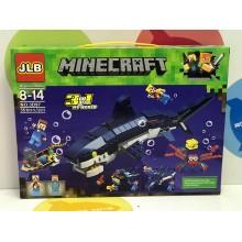Конструктор - Minecraft 3 в 1 351 дет. 3D97