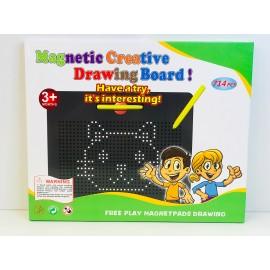 Магнитный планшет для рисования магнитами 714 дет. 402807