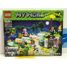 Конструктор - Minecraft 503 дет. свет. 44085