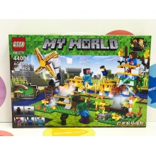 Конструктор - Minecraft 463 дет. свет. 44086