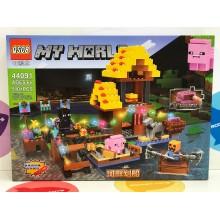 Конструктор - Minecraft 510 дет. свет. 44091