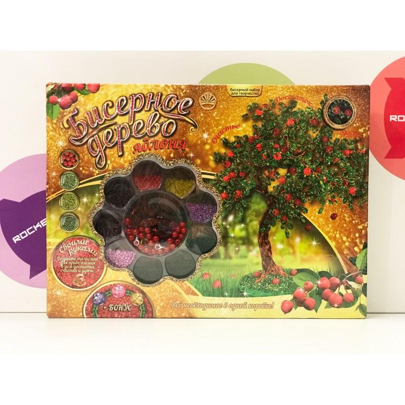 Набор для творчества - Бисерное дерево Яблоня 47254