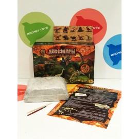 Игровой набор - Юный палеонтолог Динозаврики