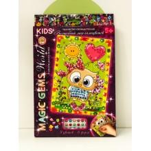 Мозаика - Magic Gems Kids Сова