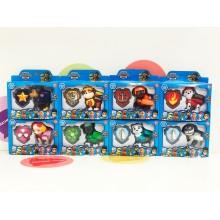 Игрушки - собачки - комплект героев 8 шт. 6058