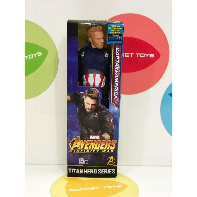 Игрушка - Супер герой Капитан Америка 30 см 62019