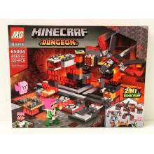 Конструктор - Minecraft на 222 дет. 65004