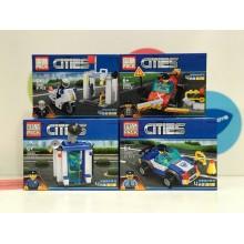 Конструктор - City 86 дет. 8 шт. 65005