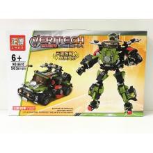 Конструктор - Робот-машина 503 дет. 6610