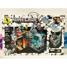 Конструктор - Minecraft 866 дет. свет. 681