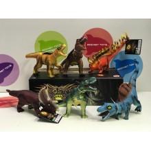 Игрушка - Динозавры звуковые набор 6 шт 7020