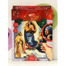 Набор для творчества - Алмазная мозаика Мадонна с младенцем-B