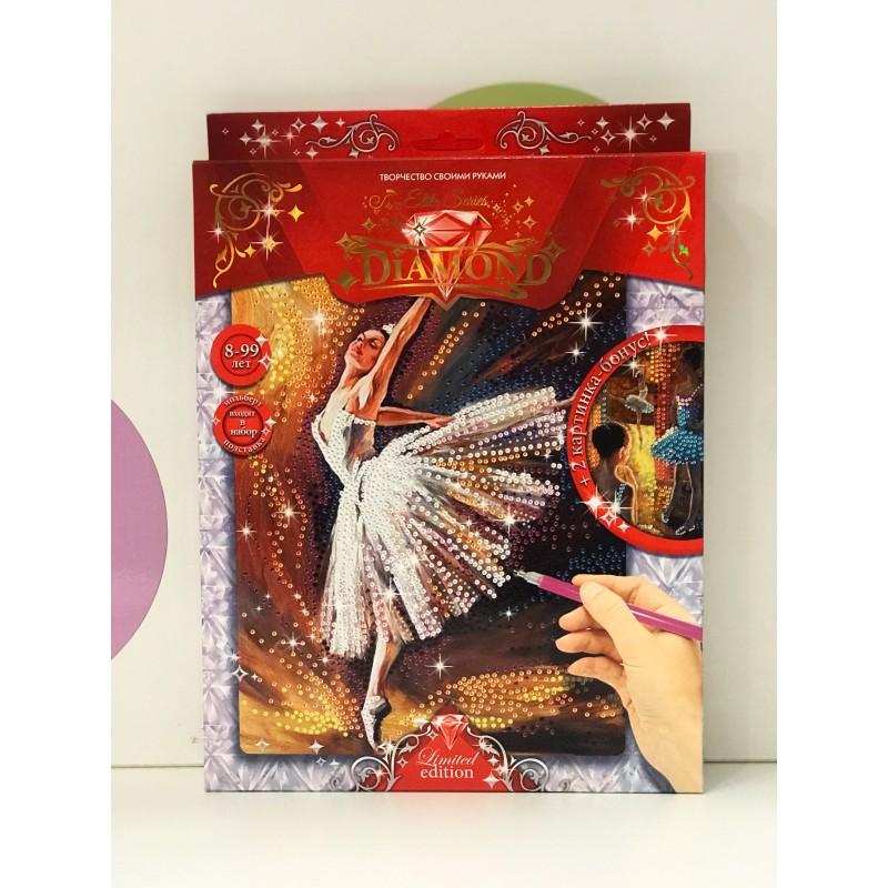 Набор для творчества - Алмазная мозаика Балерина 71601