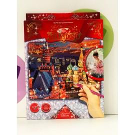 Набор для творчества - Алмазная мозаика Красная площадь