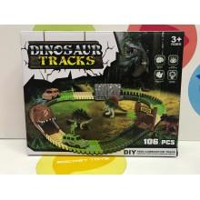 Игровой набор - Дорога с Динозаврами 106 дет. 7296