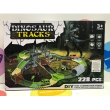 Игровой набор - Дорога с Динозаврами 228 дет. 7299