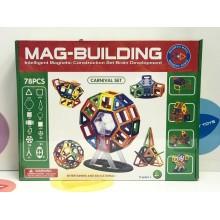Игрушка - Магнитный конструктор 78 деталей