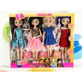 Игрушка - набор кукол с коробочками girls