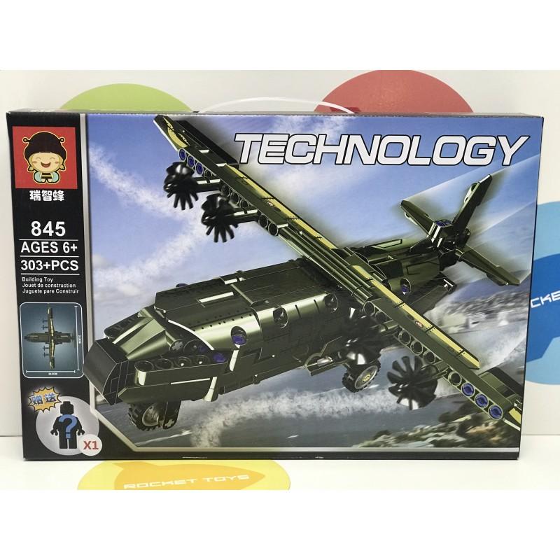 Конструктор - Вертолет 303 дет. 845