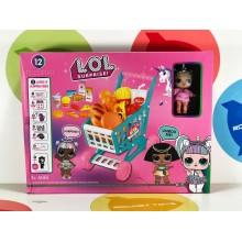 Игровой набор - Lol shopping cart-B