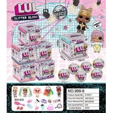 Игрушка - кукла в шаре Glitter Globe 999-6