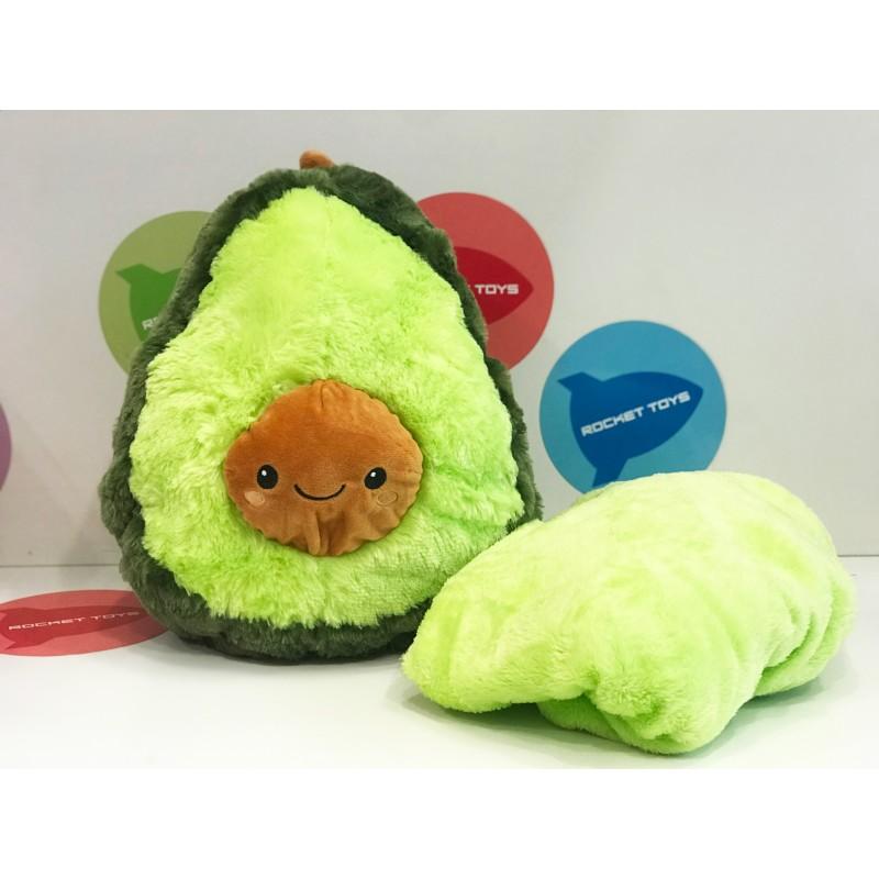 Игрушка - мягкая Авокадо с покрывалом