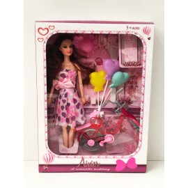 Игрушка - Кукла с аксессуарами AX001