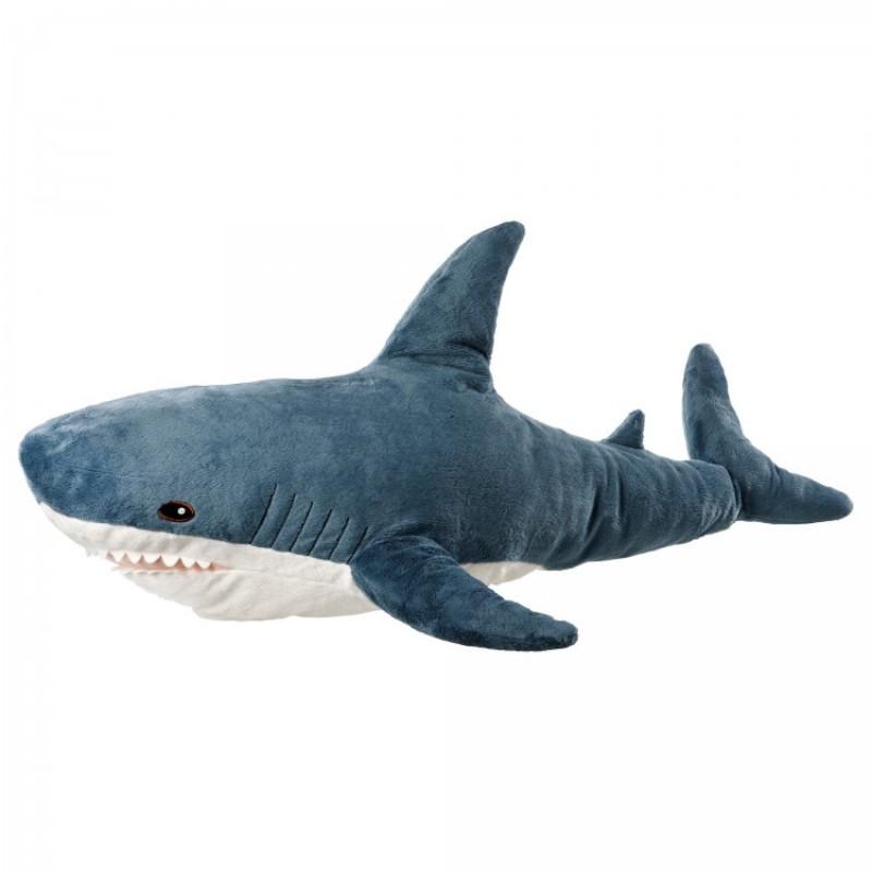 Игрушка - мягкая Акула 80 см