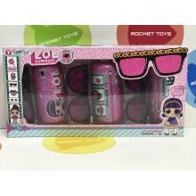 Игрушка - набор 3-ех капсул с очками Girl BB280