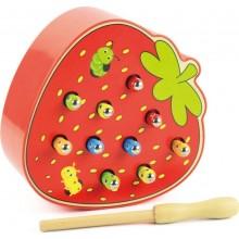 Игрушка - Веселые червячки в клубнике