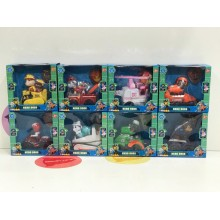 Игрушки - собачки на транспорте - Hero Dogs комплект 8 шт.